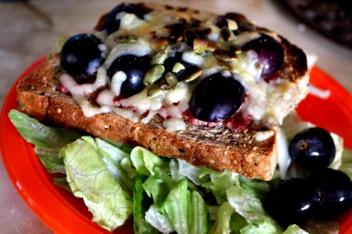 Quick Recipes Chicken Pumpkin Seed Grilled Cheese